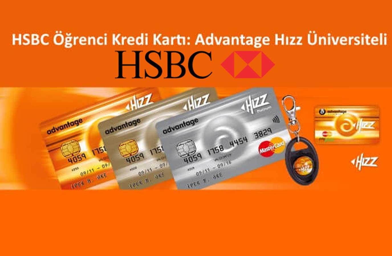 HSBC üniversiteli kart