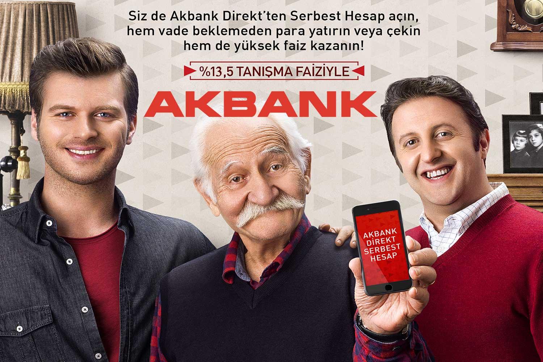 Akbank Direkt Serbest Hesap
