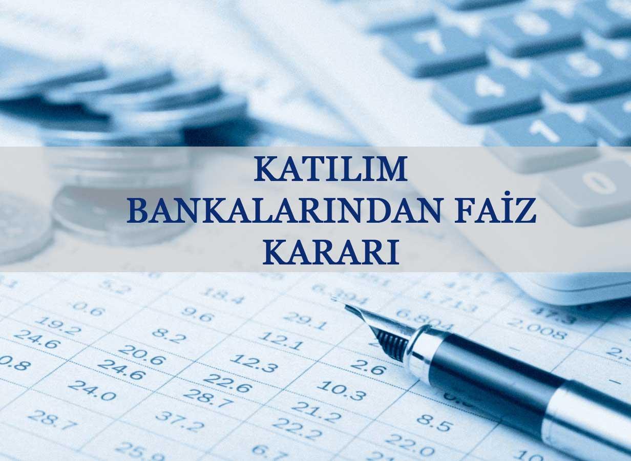 Katılım Bankacılığı Faiz